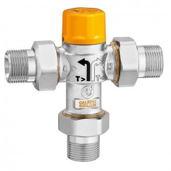 Mitigeur thermostatique pour installations solaires avec cartouche extractible Caleffi 2523