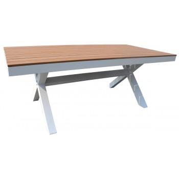 Table de jardin Outdoor de Filicudi 150 x 90 teck