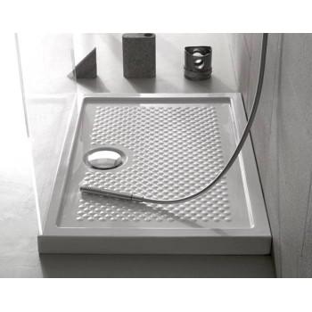 Novellini Receveur de douche Olympic 80x80 cm carré épaisseur 4,5 cm