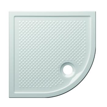 Globo Receveur de douche d'angle 80x80 cm épaisseur 6,5 cm