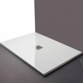 Globo Receveur de douche 120x80 cm rectangulaire épaisseur 6,5 cm