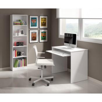 Bureau 90x45 cm Blanc mat...