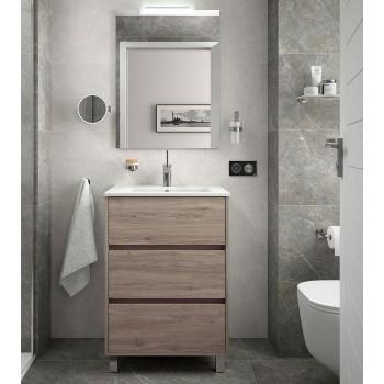 Meuble de salle de bain sur...