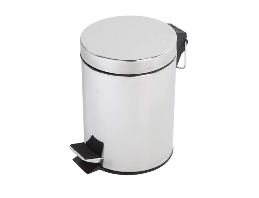 Set 3 accessoires de salle de bains en céramique Gris