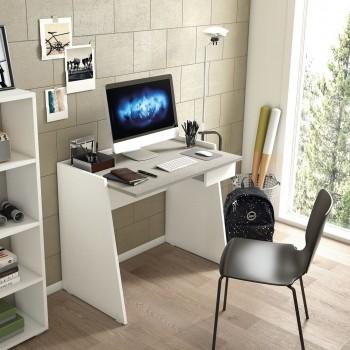 Bureau 90x60 cm Blanc frêne...