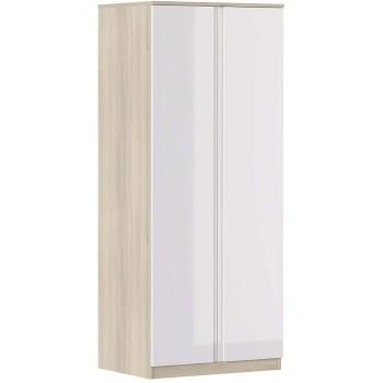 Armoire 80x190H cm Blanc...