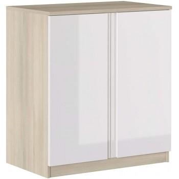 Armoire 87 cm Blanc...