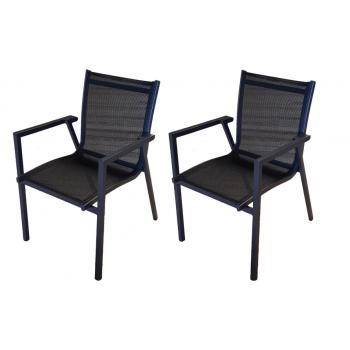 Set de 2 chaises empilables...