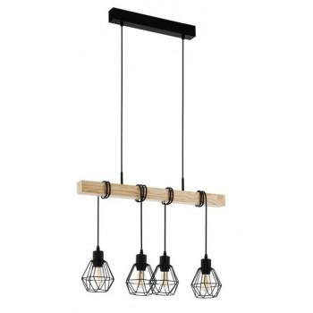 Lampe vintage de plafond en...