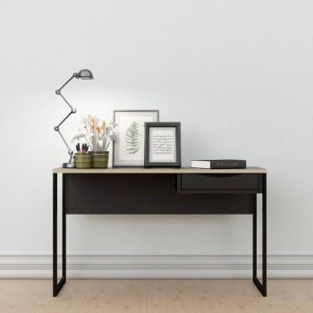 Bureau 130x48 cm Noir mat...