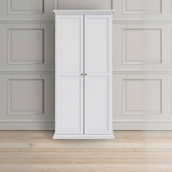 Armoire 96x200H cm blanc...