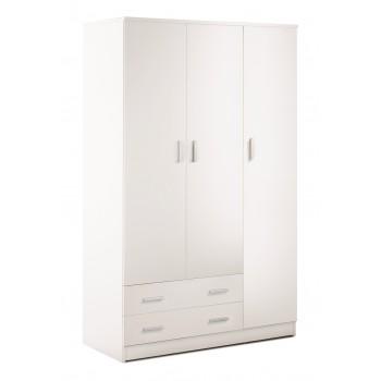 Armoire 115xH182 cm blanc...