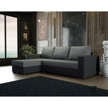 Canapé-lit d'angle 229x140...