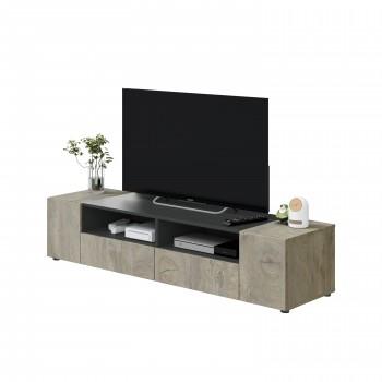 Meuble TV 138 cm avec 4...