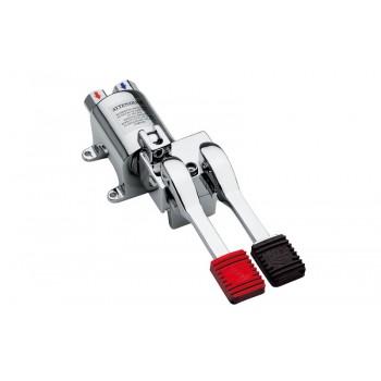 miscelatore progressivo monopedale con blocco