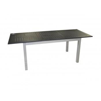 Tavolo Ravello 150/210x90 cm allungabile alluminio