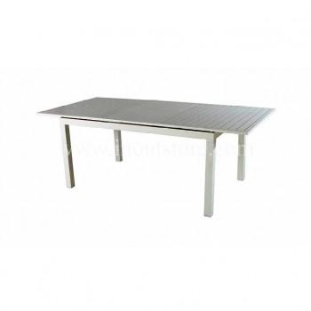 Tavolo San Gimignano in alluminio